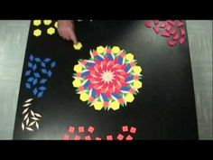 Pattern Blocks Art by DJ JAB and DJ Simms - YouTube