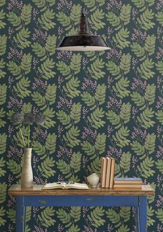 Mimosa - Pink Musk, Wallpaper from Milton & King