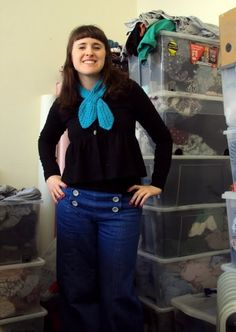 Cute skirt and sailor pants, T shirts