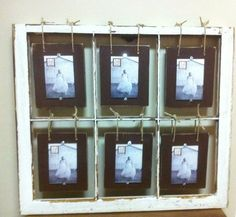 Another great idea for frames with broken panes