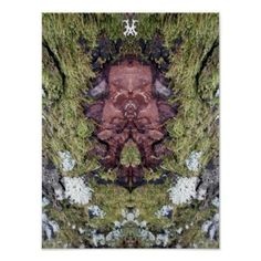 Face of Nature Tree creature Poster - photography gifts diy custom unique special