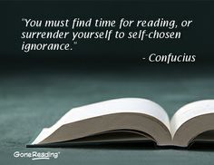 A quote about reading from Confucius