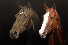 Portret van je overleden paard