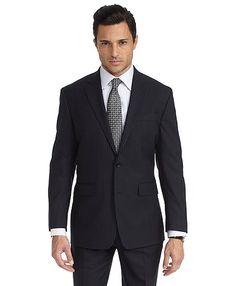 Milano Saxxon™ Shadow Stripe 1818 Suit - Brooks Brothers  $1100  42 short