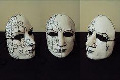 Como fazer máscara de papel machê | Artesanato passo a passo!