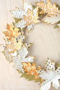 DIY Fall Leaf Decor Projects - The Budget Decorator