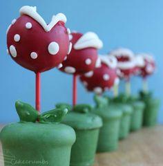 Super Mario Bros. Inspired CAKE POPS
