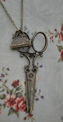 Old sewing scissors...lovely