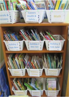 Ultimate Classroom Library Guide for Teachers- Helpful hints for building and organizing your classroom library. My favorite place to get books is the public library book sale!  They have wonderful books for great prices.