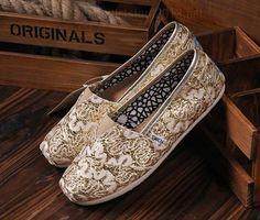 Glitter Toms Glitter Women Shoes Decorative Pattern Shoes