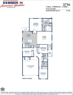 Dr Horton House Plans