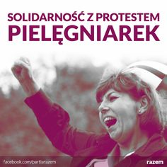 solidarność z protestem pielęgniarek