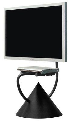 Scopri Mobile TV HZPS -Supporto universale per schermo piatto, Nero ramato di Zeus, Made In Design Italia