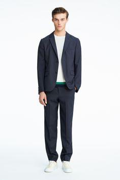 #21 Jacket:¥42,120 Knit:¥12,960 Pants:¥18,360 Shoes:¥21,060