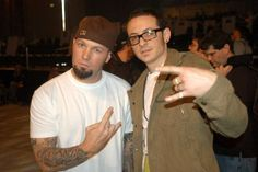 Fred Durst and Chester Bennington - Jeff Kravitz/FilmMagic/Getty Images