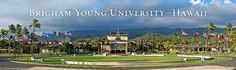 BYU-Hi...formerly Church College of Hawaii...the best time of my life!  I love this campus...