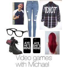 My michael clifford edit Michael Clifford, Video Games, Shoe Bag, How To Wear, Stuff To Buy, Shopping, Collection, Design, Women