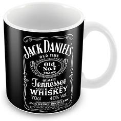 Caneca Porcelana Personalizada Jack Daniels Whiskey