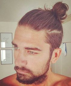 How to Get a Man Bun Hairstyle Guide More