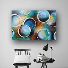 Bildresultat för circle abstract paintings