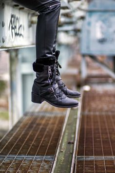 Rock 'n' Roll Style ✯ Barbara Bui boots