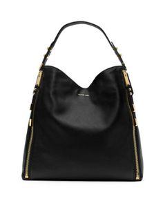 MICHAEL KORS Miranda Zipper Shoulder Bag