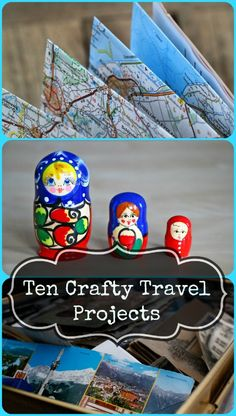 10 ideas for displaying, and crafting with your travel souvenirs Map Crafts, Travel Crafts, Travel Advice, Travel Hacks, Travel Ideas, Travel Tips, Budget Travel, Travel General, Travel Souvenirs