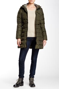 The North Face Forest Green Gotham Parka
