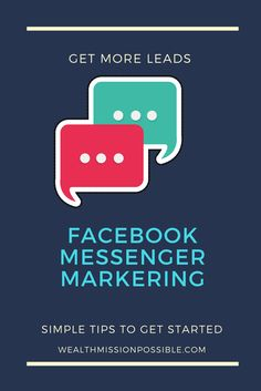 Get more MLM leads with Facebook messenger marketing. Learn a technique that almost guarantees you'll get more prospects for your network marketing business. About Facebook, How To Use Facebook, Facebook Messenger, Get Started, How To Get, Social Media, Led, Marketing, Learning