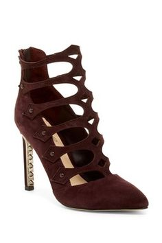 Holly Strappy Caged Pump