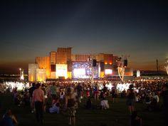 Rock in Rio stage, Rock in Rio music festival in Rio de Janeiro, Portugal