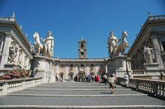 Piazza del Campidoglio and the Capitoline Museum, Rome, Italy