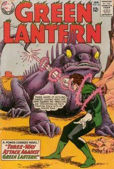 Dc Comics - Sci-fi - Silver Age - Aliens - Hal Jordan-gil kane