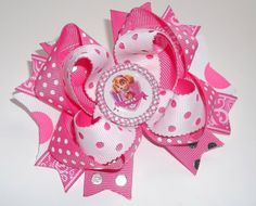 Skye Paw Patrol Boutique Handmade Hair Bow - Request your own custom made...