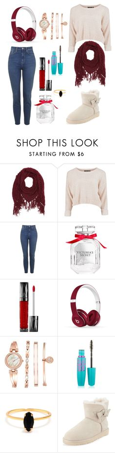 """""""Untitled #145"""" by fadedlipstick on Polyvore featuring Charlotte Russe, Victoria's Secret, Urban Decay, Beats by Dr. Dre, Anne Klein, Maybelline, Bing Bang and UGG Australia"""