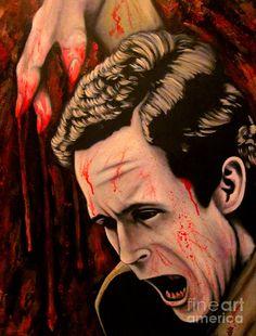 Ted Bundy Painting  - Ted Bundy Fine Art Print