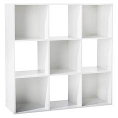 9-Cube Organizer Shelf 11 - Room Essentials, White