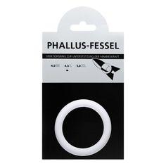 Phallusfessel 45mm (L) weiß
