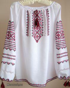 Vyshyvanka blusa de campesina / blusa ucraniano / por Cheremshyna