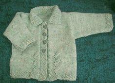 Leafy Baby Jacket