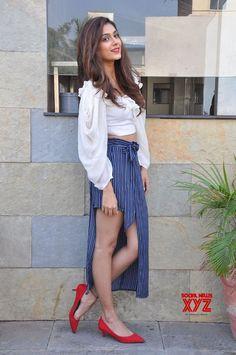 Actress Aakanksha Singh Stills From Malli Raava Movie Promotions - Social News XYZ