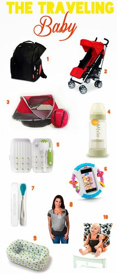 10 Must Have Products to Travel With a Baby