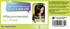 $2 off Garnier Nutrisse at Jean Coutu ONLy - exp 30/12/14 #printable #coupon #instore #Jeancoutu