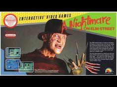 A Nightmare On Elm Street For Nintendo Entertainment System Nes