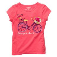 pink pup t shirt