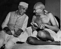 Gandhi Ji and Nehru Ji