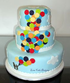 Baloons cake