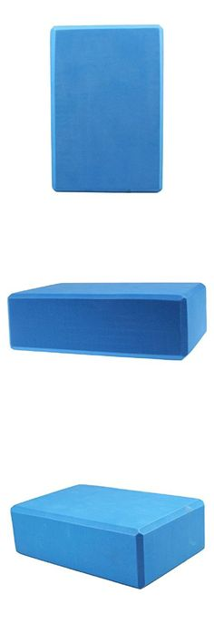 Robiear EVA Yoga Block Brick Sports Exercise Fitness Gym Workout Stretching (Blue )