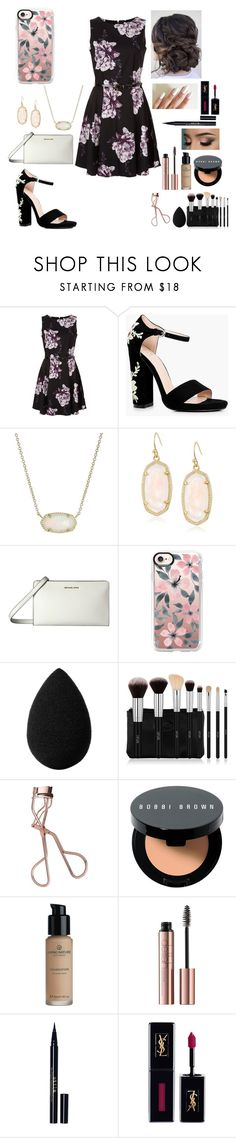 """""""Day 4: Going to See a Broadway Show 🎭"""" by look-in-the-clouds ❤ liked on Polyvore featuring Boohoo, Kendra Scott, MICHAEL Michael Kors, Casetify, beautyblender, Charlotte Tilbury, Bobbi Brown Cosmetics, Stila, Yves Saint Laurent and macks2k17summacontest"""