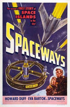 Pizarra del espectador: Carteles Cine Ciencia Ficción (35) - Spaceways (1953)
